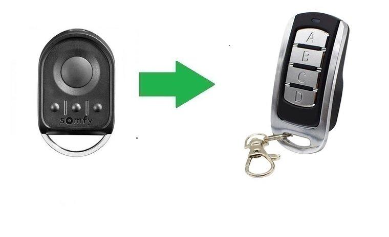 Somfy Key Go RTS (alternatieve handzender)