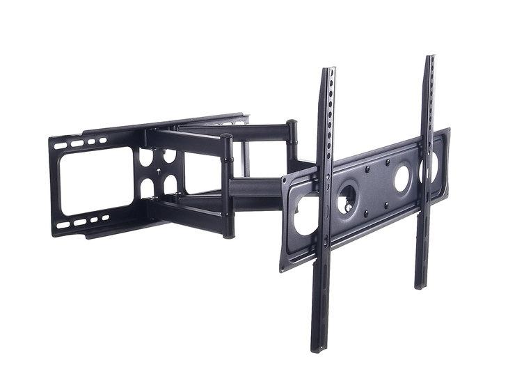 Muurbeugel voor schermen tot 70 inch / full motion (3 draaipunten)