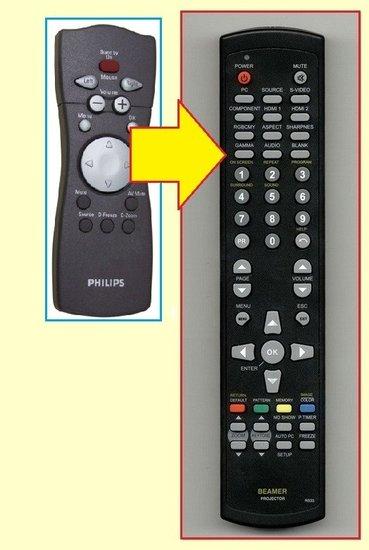 Philips RC331501-01 afstandsbediening ALTERNATIEF