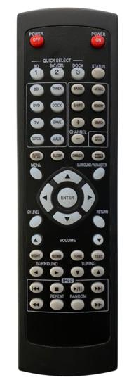 Alternatieve Denon RC-1158 afstandsbediening