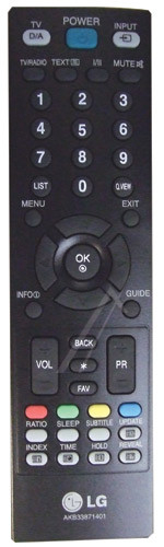 LG AKB33871401 afstandsbediening