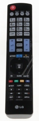LG AKB73615306 afstandsbediening