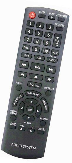 Alternatieve Panasonic N2QAYB000641 afstandsbediening