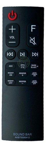 Alternatieve LG AKB75595412 Afstandsbediening