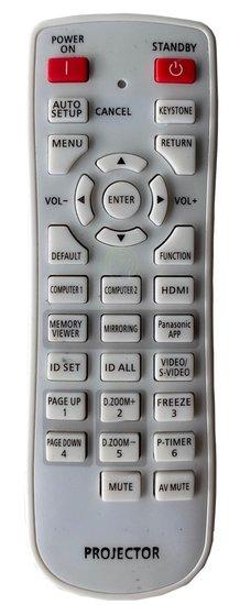 Alternatieve Panasonic N2QAYA000100 afstandsbediening