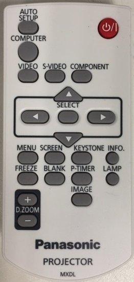 Panasonic MXDL afstandsbediening