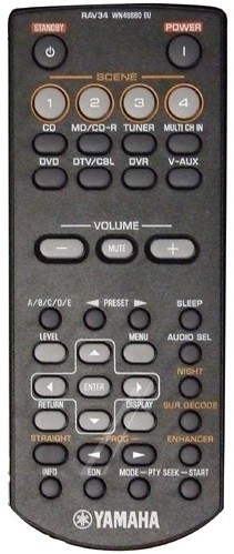 Yamaha RAV34 WN466800 afstandsbediening