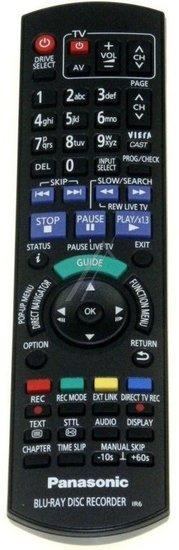 Panasonic N2QAYB000474 afstandsbediening