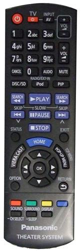 Panasonic N2QAYB000729 afstandsbediening