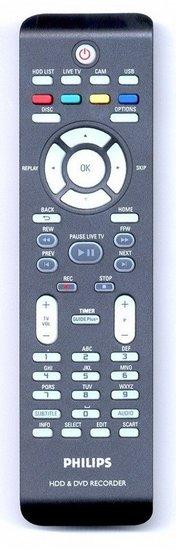 Philips DVDR3570H afstandsbediening
