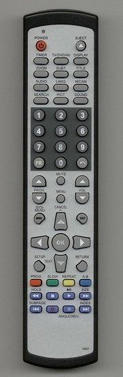 Vervangende afstandsbediening voor TOM TEC & Xiron  DVTV1928W