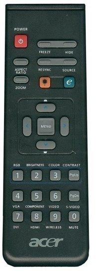 Acer VZ.J5300.005 afstandsbediening