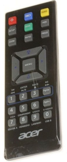 Acer MC.JG811.009 afstandsbediening