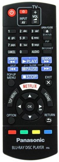 Panasonic N2QAYB001030 afstandsbediening