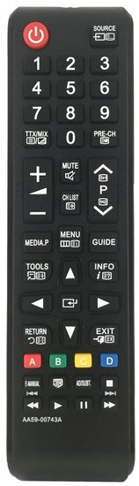 Alternatieve Samsung AA59-00743A afstandsbediening