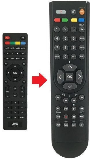 JVC RM-C1244 afstandsbediening
