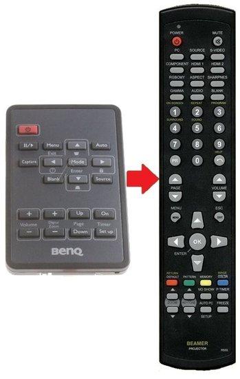 BENQ 5JJ3G06001 afstandsbediening ALTERNATIEF