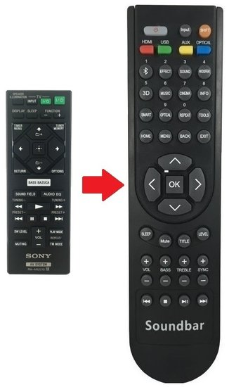 Alternatieve Sony RM-ANU215 afstandsbediening