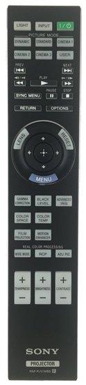 Sony RM-PJVW85 afstandsbediening