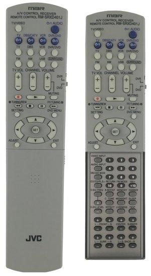 JVC RM-SRXD401J afstandsbediening