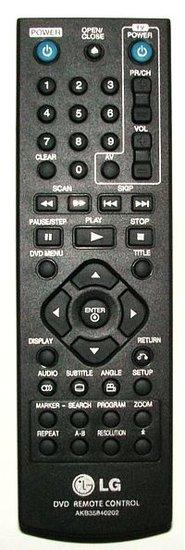 LG AKB35840202 afstandsbediening