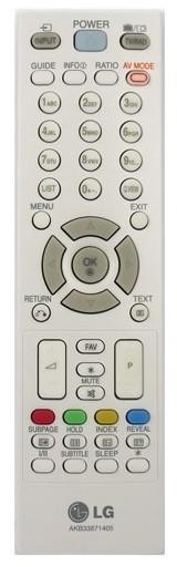 LG AKB33871405 afstandsbediening