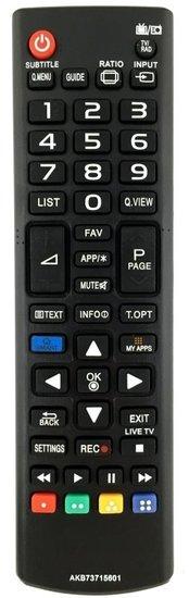 Alternatieve LG AKB73975757 afstandsbediening