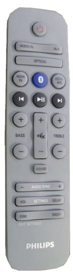 Philips 996580005709 afstandsbediening