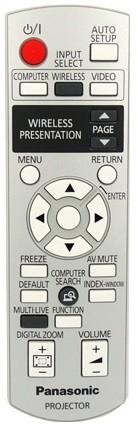 Panasonic N2QAYB000260 afstandsbediening