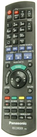 Panasonic N2QAYB001047 afstandsbediening