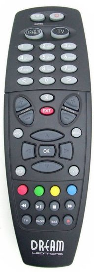 Dreambox DM7025 afstandsbediening