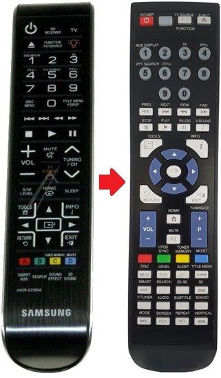Alternatieve Samsung AH59-02569A afstandsbediening
