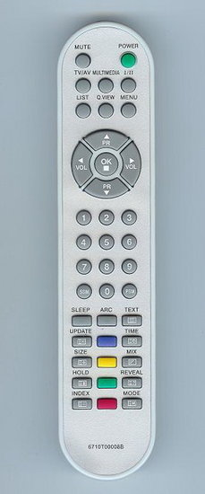 LG 6710T00008B afstandsbediening