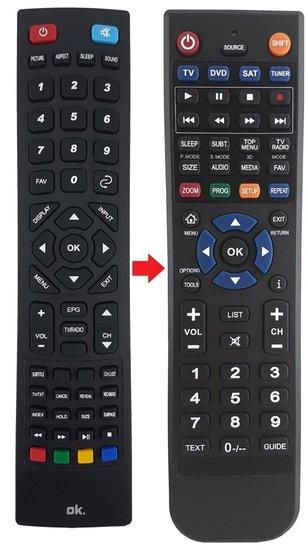 OK RC98005 afstandsbediening