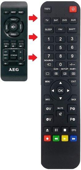 AEG BSS4815 afstandsbediening