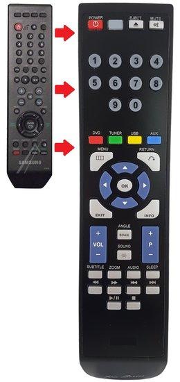 Alternatieve Samsung AH5901951B afstandsbediening