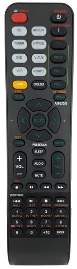 Alternatieve Yamaha RAV285 WN058300 afstandsbediening
