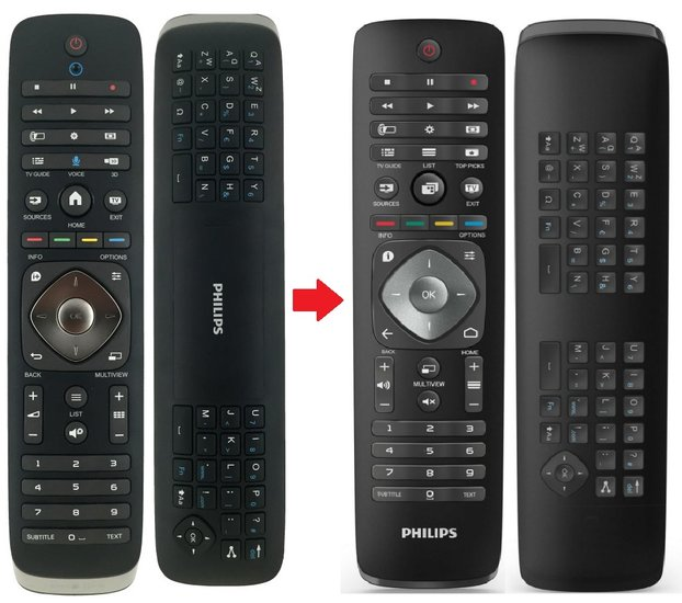 Philips 996590021327 afstandsbediening