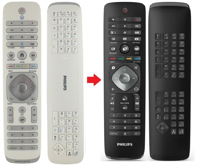 Philips 996590021453 afstandsbediening