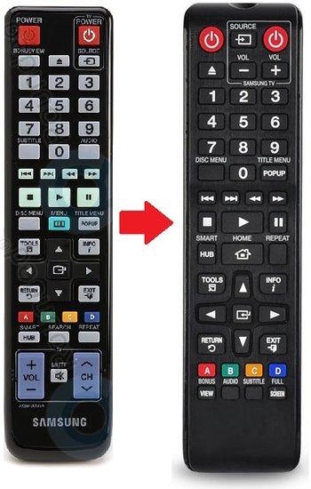 Samsung AK59-00125A afstandsbediening