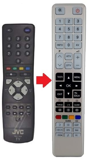 JVC RM-C1508B afstandsbediening