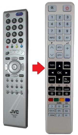 Alternatieve JVC RM-C1900S afstandsbediening