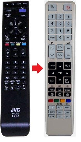 Alternatieve JVC RM-C2501 afstandsbediening
