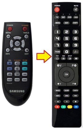 Alternatieve Samsung AH59-02196A afstandsbediening
