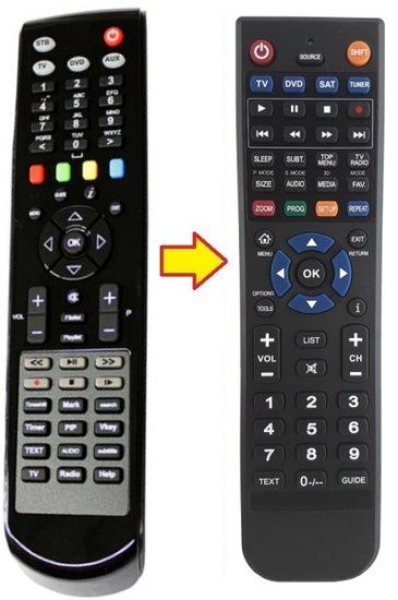 CLARKE-TECH ET-9000 | ET-9100 | ET-9200 afstandsbediening