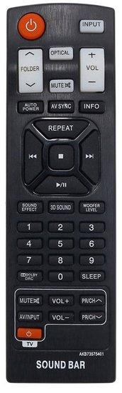 Alternatieve LG AKB73575401 afstandsbediening