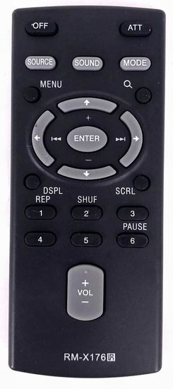 Sony RM-X304 afstandsbediening