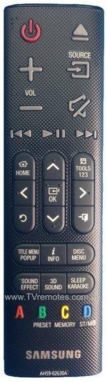 Samsung AH59-02630A afstandsbediening