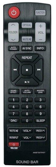 Alternatieve LG AKB73575421 afstandsbediening