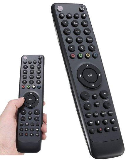 Universele afstandsbediening voor VU+ apparaten